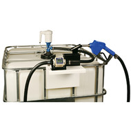275-Gallon IBC TOTE Stationary DEF Dispensing System - Electric JD DEF-TOTE