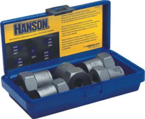 """5 Pc. Extractor Set, 19-24mm 3/4""""-1"""" (1/2"""" Drive) IRW54125"""