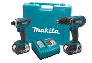 18V LXT Lithium-Ion Cordless 2-Piece Combination Kit MKT-LXT211