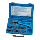 Quick Change Ratcheting Terminal Crimping Kit with 9 Die Sets TA18980