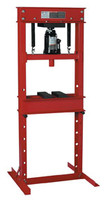 20-Ton Hydraulic Shop Press with Bottle Jack ATD-7454