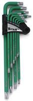 13 pc. Extra Long Arm Torx® Key Set - Tamper Resistant TTN-12715