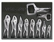 10pc VISE-GRIP Locking Tools in Tray VSG-1078TRAY