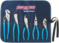 5 pc. Tool Roll Pliers Set CNL-BAG5