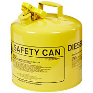 Eagle Mfg 258-UI-50-SY 5Gal Yellow Type I Safety Can