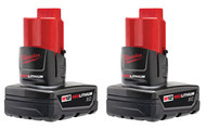 2 Pack XC High Capacity REDLITHIUM™ Batteries MWK-48-11-2412