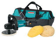 "Makita Variable Speed Polisher Kit, 7"" 9237CX3"