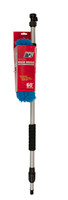 Flow-Thru Vehicle Wash Brush with Handle