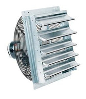 10 in Shutter Mounted Exhaust Fan