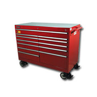 54 in  Wide Super Heavy Duty Cabinet - Red