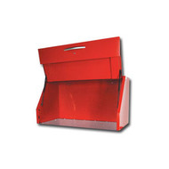 54 in  Wide Super Heavy Duty Canopy / Hutch - Red