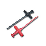 2 Pc. Insulation Piercing Hooks (Red / Black)