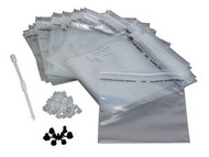 E-Z Liner Disposable Cup Liner Kit - 48 Pc. plus Adapters