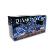 Medium Diamond Grip, latex, powder free, Gloves 100 Per Box