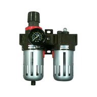 3/8 in  Filter, Regulator  and  Lubricator with Gauge