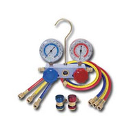 R134A Aluminum Manifold Gauge Set with Couplers