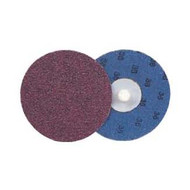 2 in  Blending Disc, Plastic Button Style, 80AO