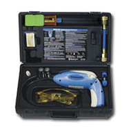 Heated Diode Electronic Leak Detector with UV light and Dye Kit