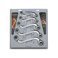 5 Piece Metric S Shape Reversible GearWrench Set