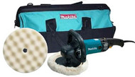 Makita 7 in Variable Speed Electronic Polisher Kit  9237CX2