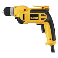 Dewalt 7.0 Amp 3/8-Inch VSR Pistol Grip Drill Kit with Keyless Chuck