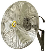 Airmaster Fan Company 71582 Commercial Unit Pack Wall/Ceiling Mount Air Circulating Oscillating Fan, 30""