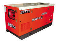 Segma Power Products 20 Kilowat Silent Water Cooled Diesel Generator