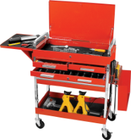 Deluxe 4-Drawer Service Cart W54033