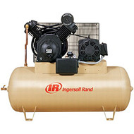 10hp 120 gallon horizontal 2-stage air compressor