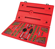76 pc. Machine Screw, Fractional & Metric Tap & Die Set ATD-276