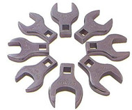 8pc Jumbo Metric Straight Crowfoot Wrench Set