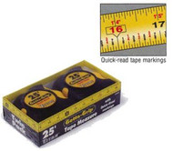 2-pack 25 foot Tape Measures