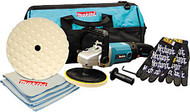 "7"" Polisher/Sander Kit with Towels, Gloves and Tool Bag 9227CX5"