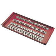 16 in Tool Cart Socket Rack Tray