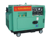 Diesel Welding  and  Silent Generator Set