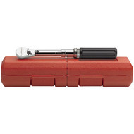 Micrometer Torque Wrench 1/4 in  Drive w/ case