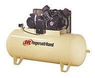 10 HP, 120 Gallon, Horizontal Compressor, 175 PSI (max.), 35 ACFM