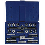24-pc Fractional Tap and Round Die Set