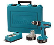 Makita 18 Volt Driver Drill W/2 Batteries 6347DWDE