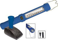 Cordless 30 LED Light and 6 LED Flashlight with 12v lighter plug