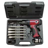 Short Barrel Composite Air Hammer with 5 Pc. Chisels AIR5100