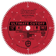 Freud 12-Inch 96 Tooth ATB Crosscutting Saw Blade LU85R012