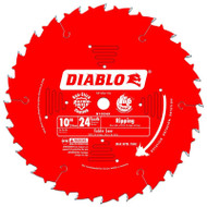Freud Diablo 10-Inch 24-Tooth ATB Ripping Saw Blade D1024X