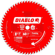 Freud Diablo 8-1/2-Inch 60 Tooth Fine Finishing Miter Saw Blade D0860S