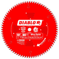 Freud Diablo 10-Inch 80-tooth ATB Finish Saw Blade D1080X