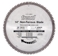 Freud 14-Inch 100 Tooth Non-Ferrous Metal Cutting Saw Blade LU89M014