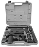 ATD Tools POM Coated Dolly Set, 12pc (ATD-4012)