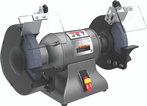 Peachy Wilton 8 Industrial Bench Grinder Jet 578008 Bralicious Painted Fabric Chair Ideas Braliciousco