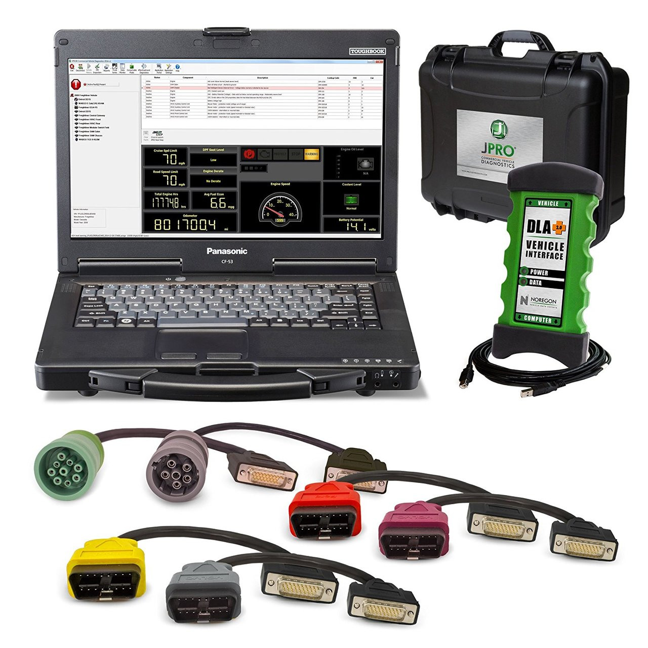 Noregon Systems 263025-NS Diagnostic Tool
