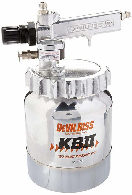 DeVilbiss Pressure Cup - 2 Quart Capacity